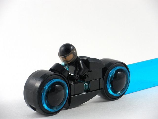 Custom made Lego Tron