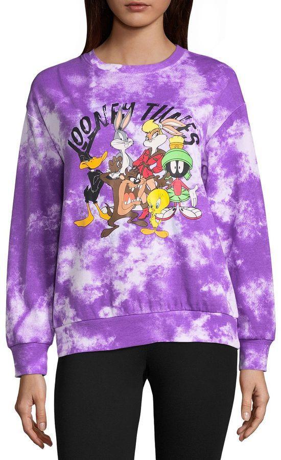 cfc1dad7e20dc Freeze Looney Tunes Sweatshirt-Juniors