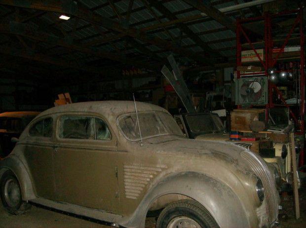 Ready for Restoration: 1934 DeSoto Airflow Two Door