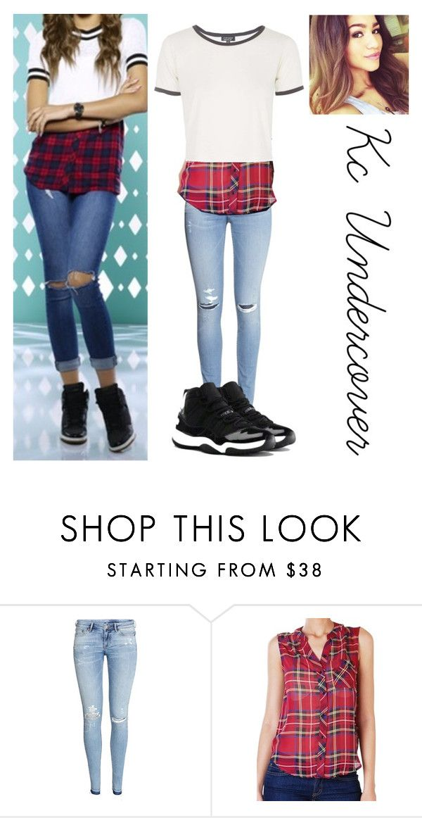 """""""Kc undercover"""" by applewhite03 ❤ liked on Polyvore featuring moda, H&M, Humble Chic, Topshop, NIKE, women's clothing, women, female, woman y misses"""