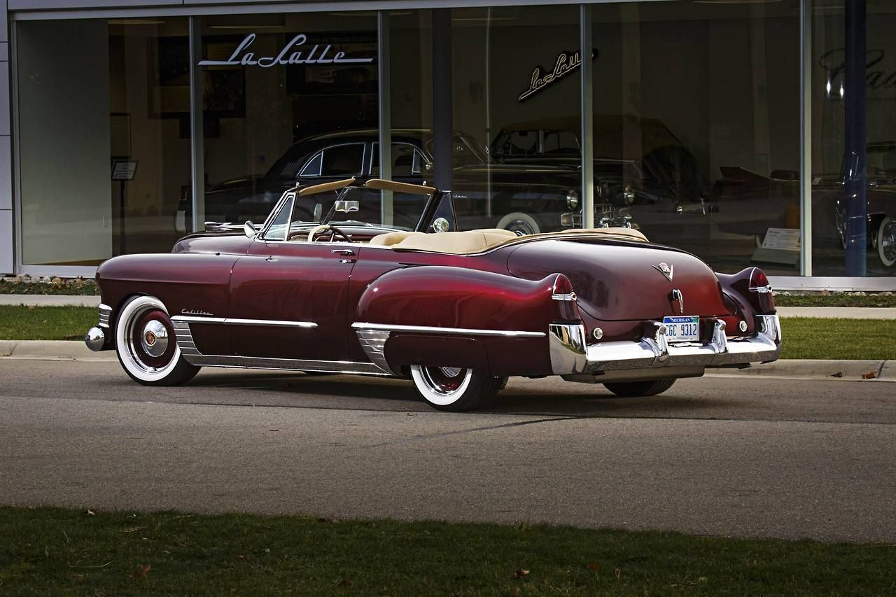 Cadillac convertible 1949 - source 40s & 50s American Cars ...