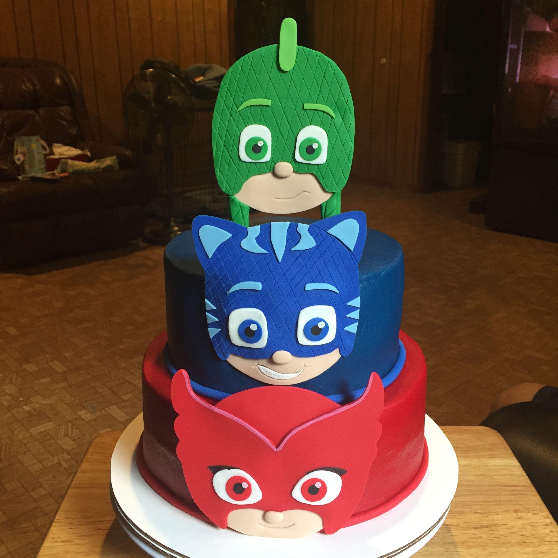 Disney Pj Masks Cake My Cakes Pinterest Pj Mask Pj And