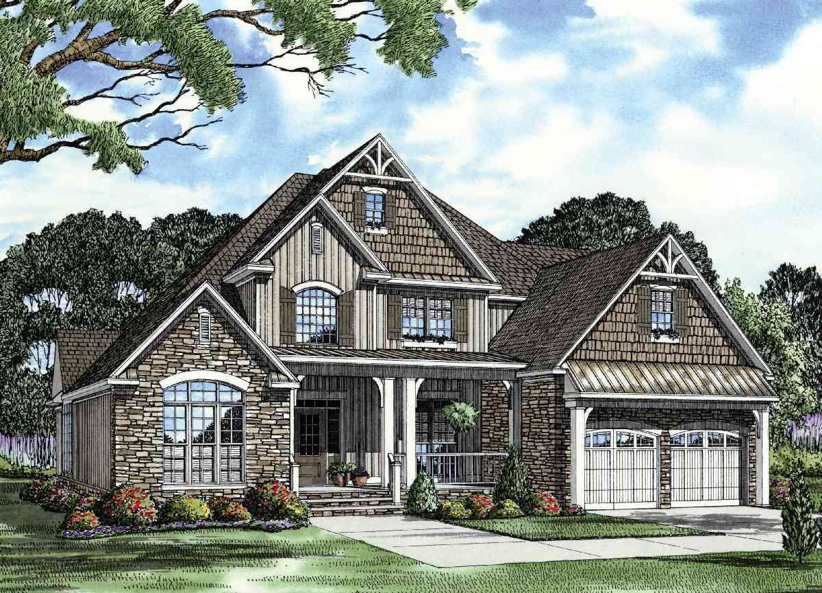 Unique Inviting House Plan 59657ND