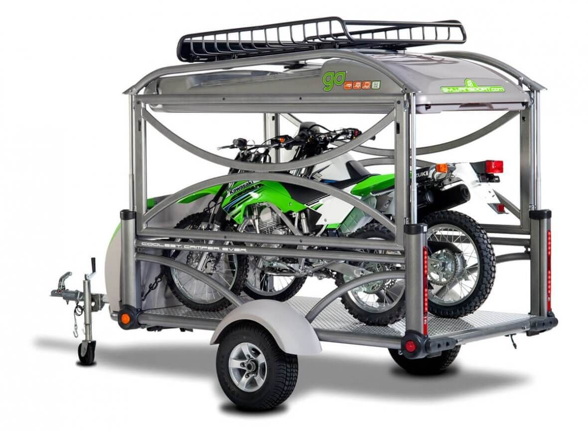 Motorcycle Tent Trailers and Campers Motorcycle tent