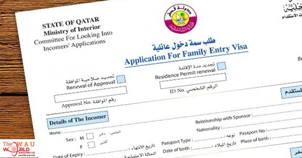 RESIDENTS OF QATAR CAN NOW APPLY FOR FAMILY VISIT VISAS ONLINE | Visa  online, How to apply, Visa