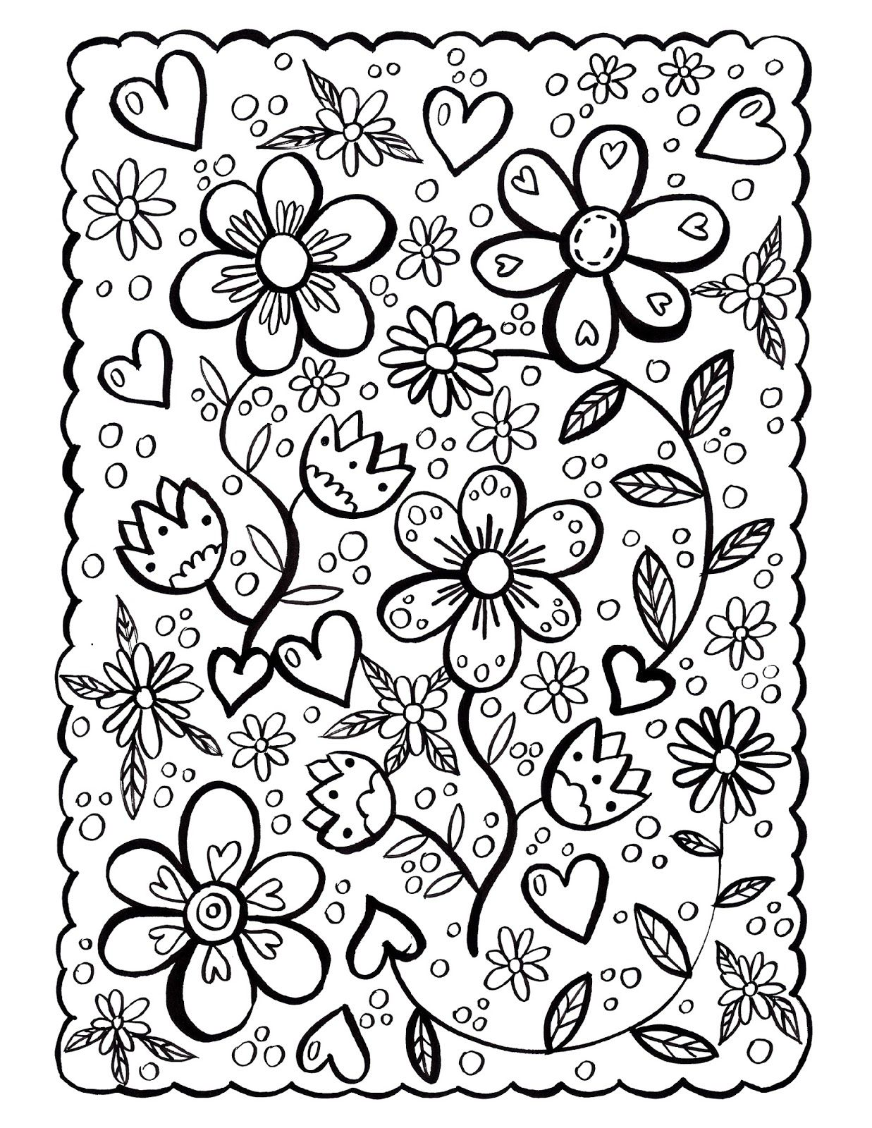 Still winter outside so i decided to draw some spring flowers to