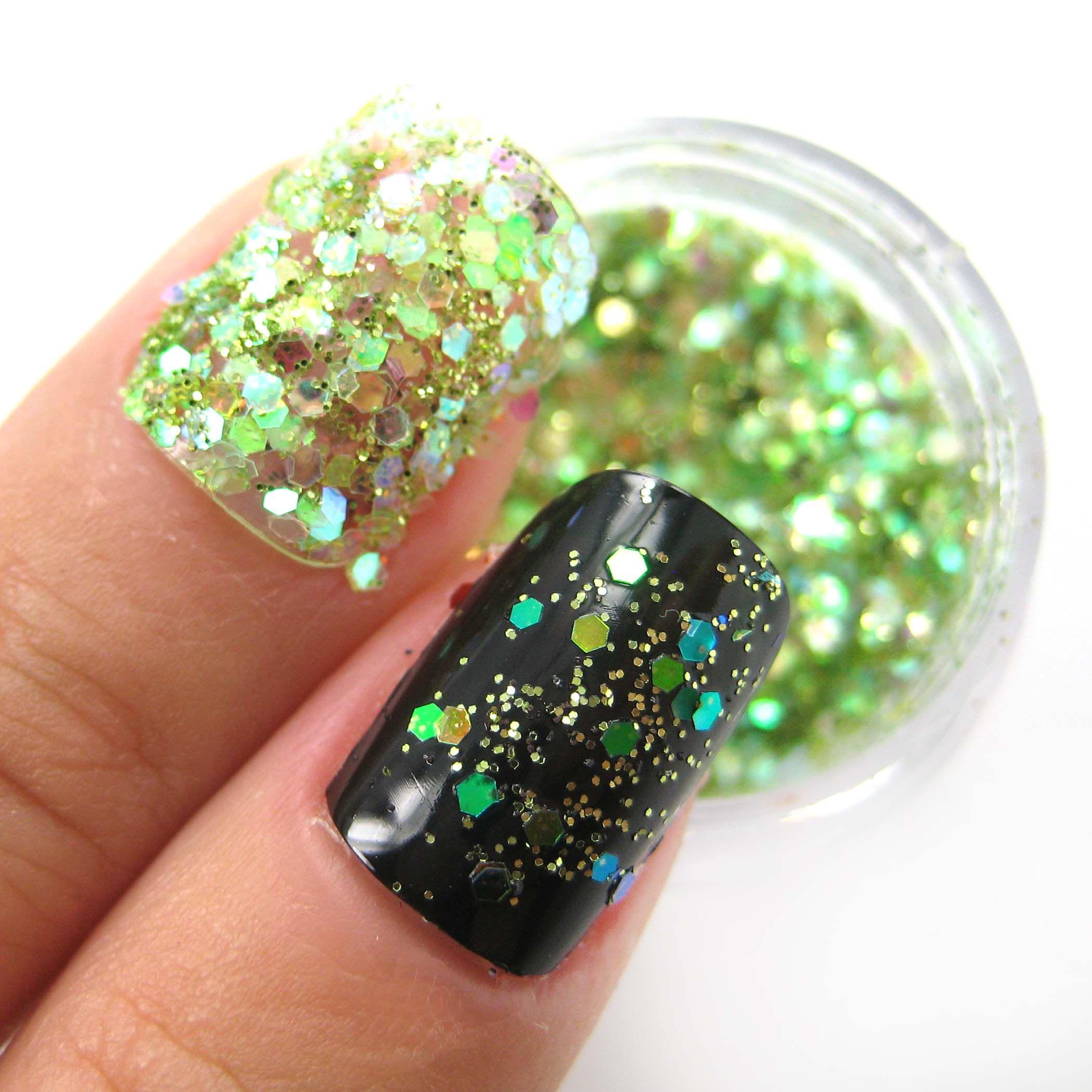 St. Patrick\'s Day nails | nails | Pinterest | Decoración de uñas, Me ...