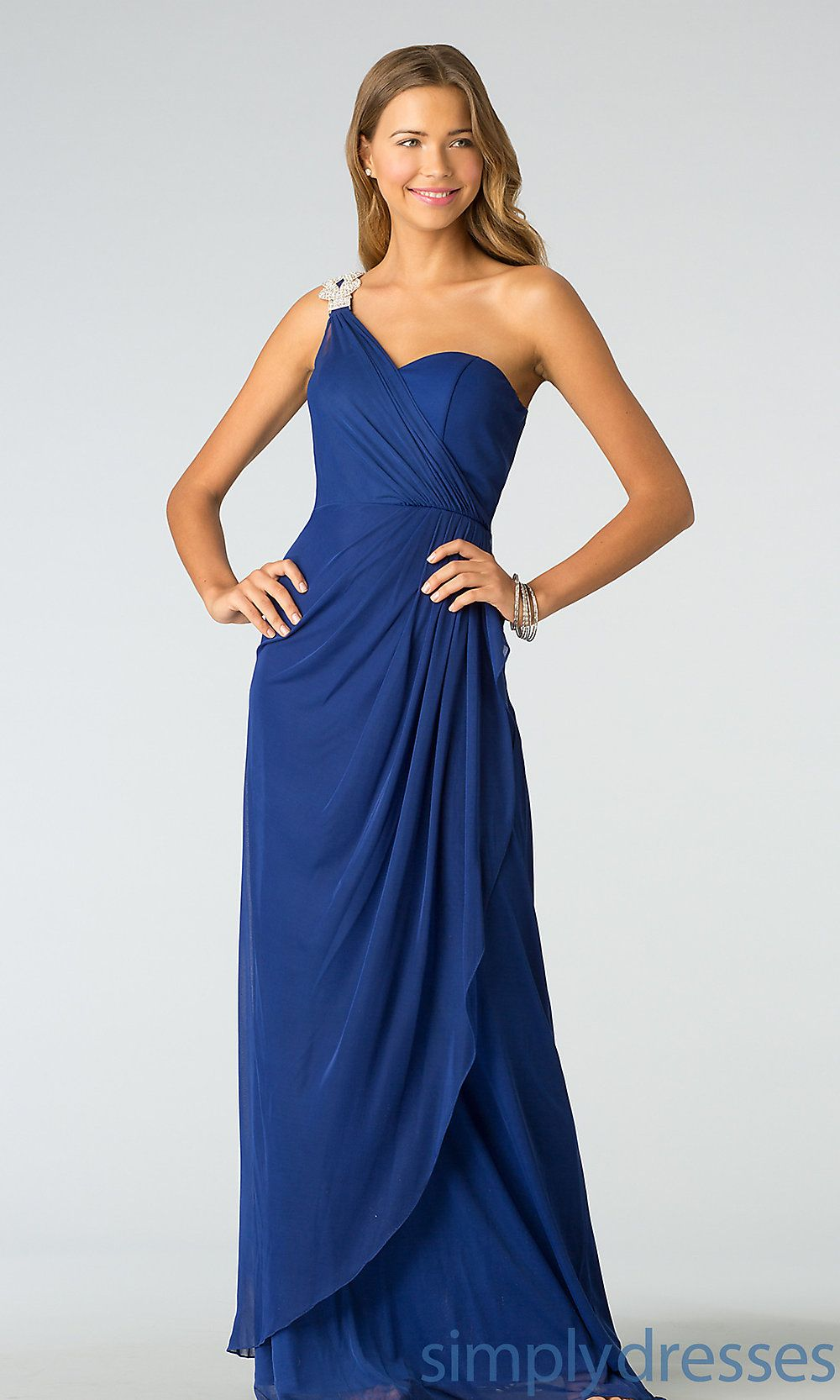 One shoulder dress simply dresses shoulder dress long evening