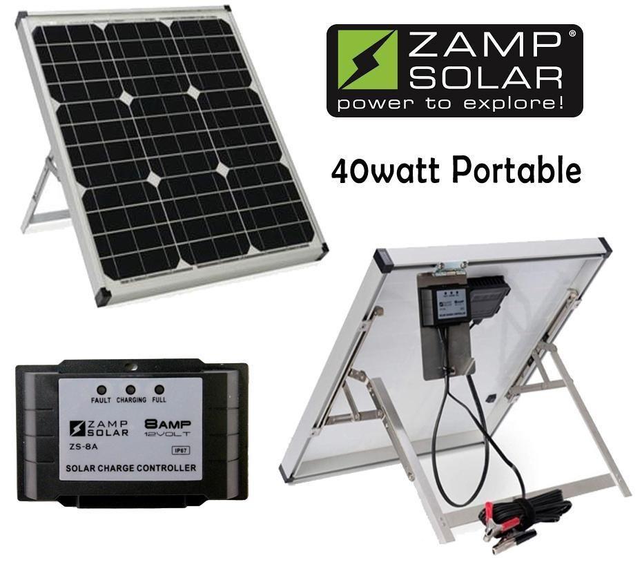 45 Watt Zamp Portable Solar Charging System Solar Charging Portable Solar Panels Solar Panel Cost