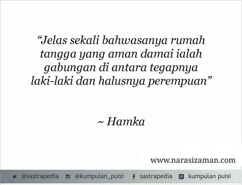 By Hamka Puisi Sajak Motivasi