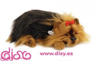 Yorkie Peluche Perfect Petzzz La Mascota Que Respira Yorkie Peluches De Animales Cachorros Yorkie