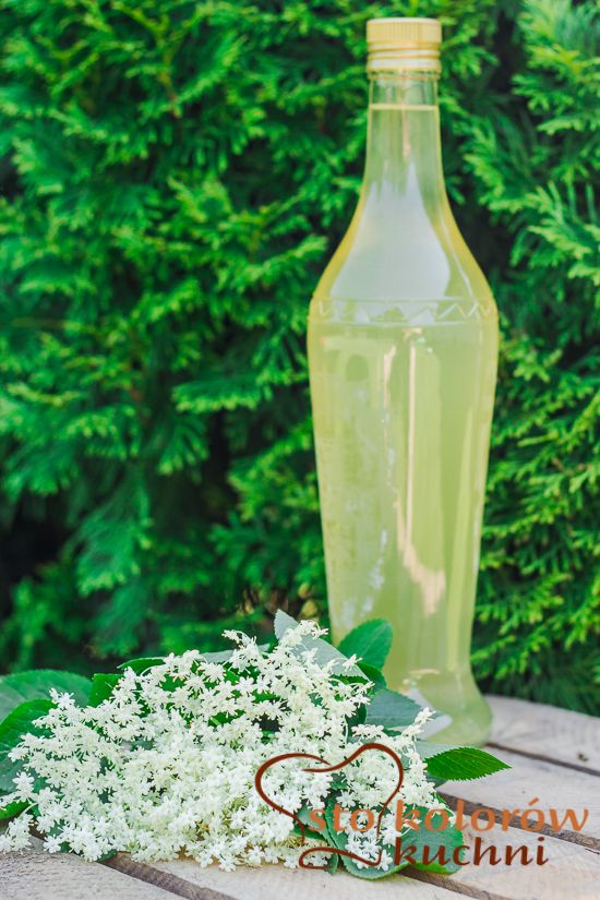 Nalewka Z Kwiatow Czarnego Bzu Bottles Decoration Eat Home Decor