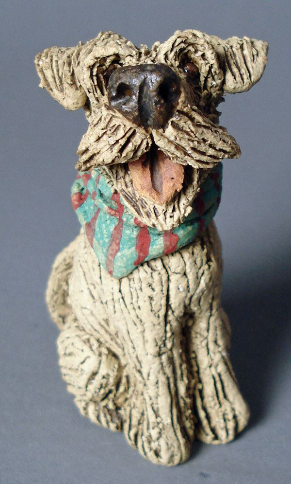 Salty Sea Dogs Miniature Ceramic By Joannecookesculpture On Etsy Pottery Animals Dog Art Dog Sculpture