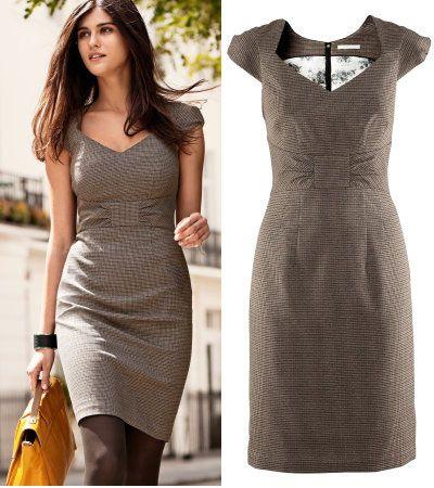 Tendance mode   10 petites robes noires (et grises) ultra chic pour un  retour en beauté au bureau ! 163eac0a25c4