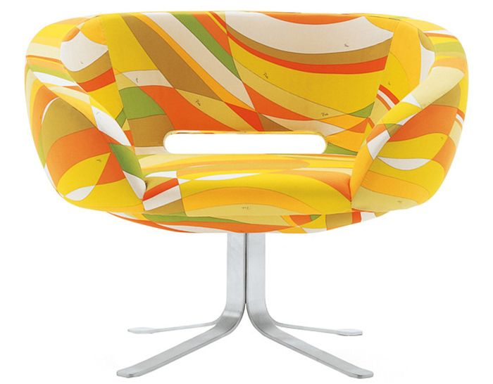 Rive Droite, Design Patrick Norguet, 2001 Made in Italy by Cappellini, so Pucci-esque