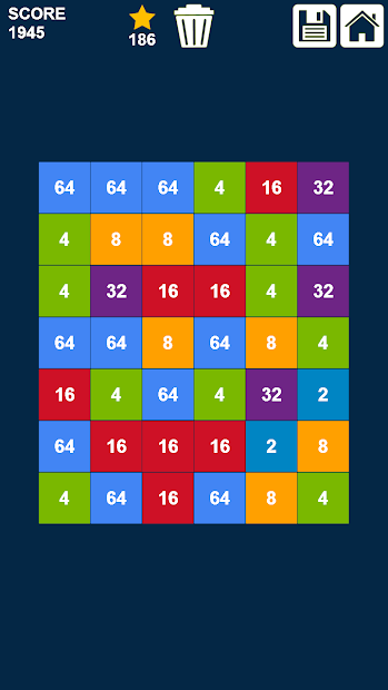 Tap N Match Numbers Same Game The Game Is Over Simple Rules Game Icon