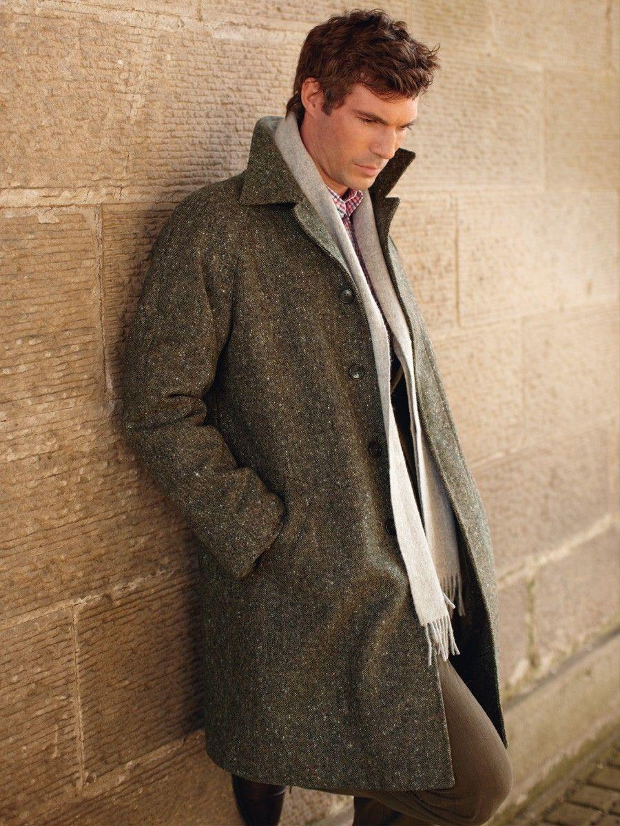 Brook Taverner Ireland Overcoat Mens Tweed Overcoat Country Mens Fashion Overcoats [ 1199 x 900 Pixel ]