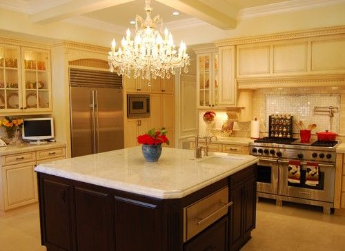 Beautiful Decorating With Chandeliers Ideas | Kitchen design ...