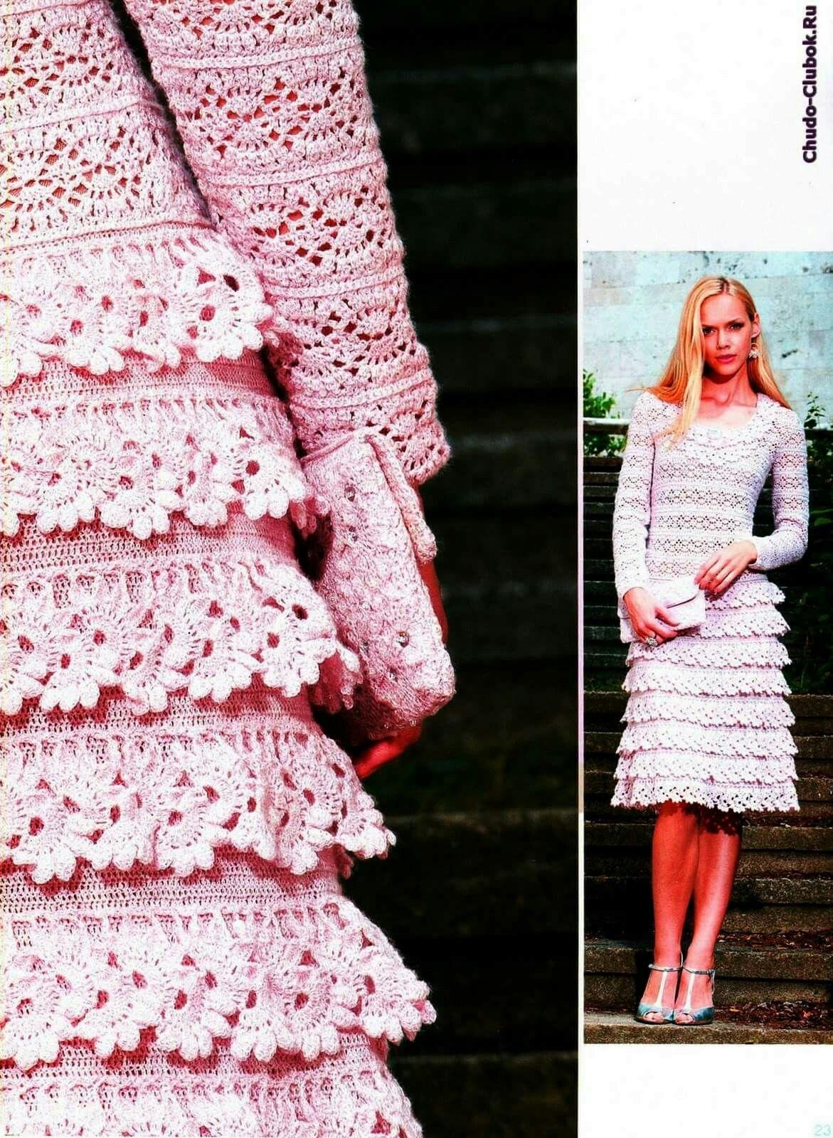 Pin de carmen olmo en vestidos crochet2 | Pinterest | Vestiditos