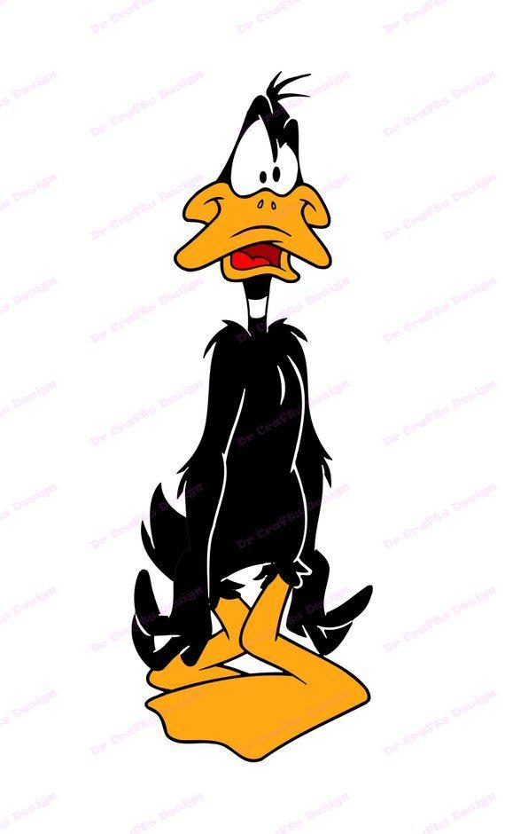Daffy Duck SVG 9, svg, dxf, Cricut, Silhouette Cut File, Instant