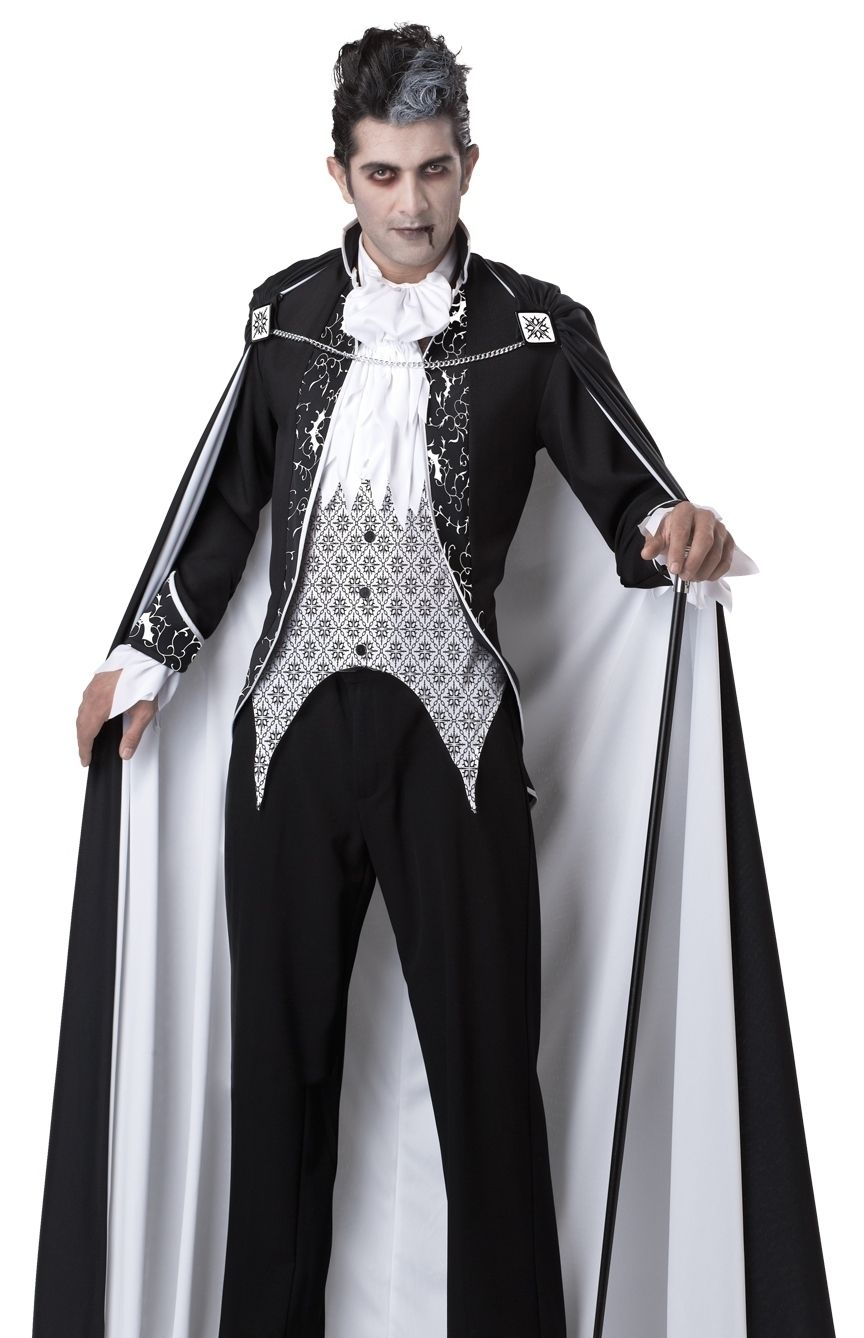 3ce012ab1d8b Goth vampire black and white. Goth vampire black and white Best Mens  Halloween Costumes ...