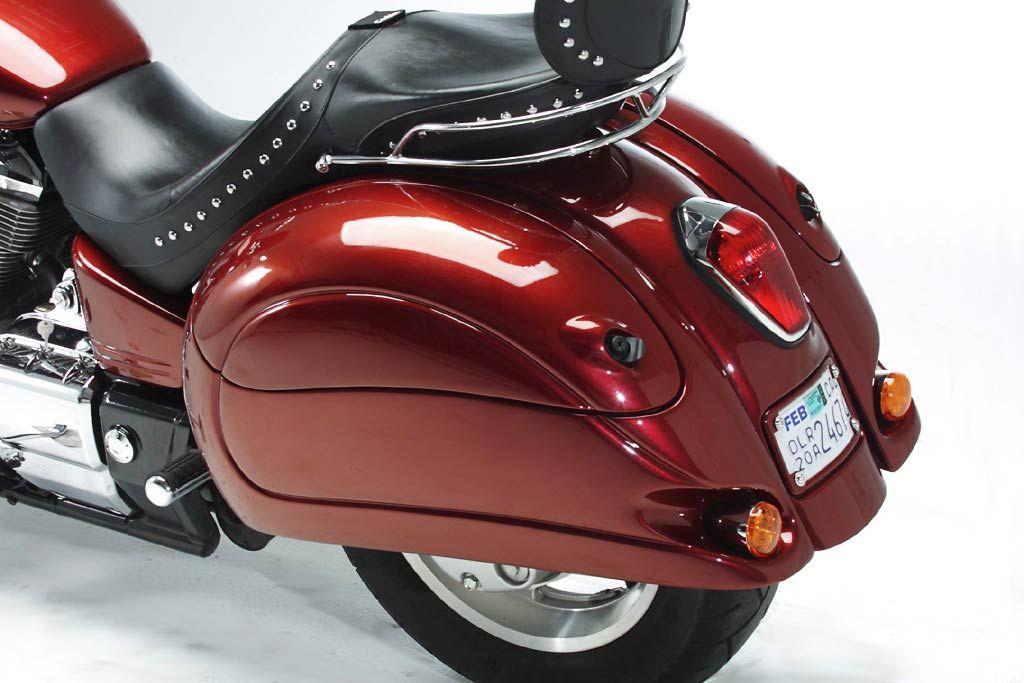 Corbin Beetle Bags for Honda VTX 1300. Vehicles
