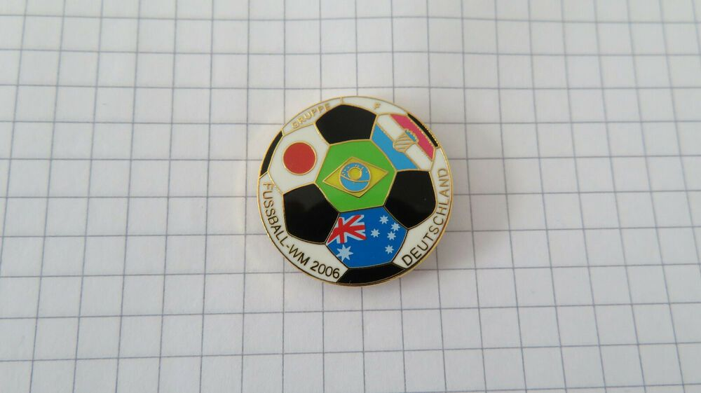 Details About Pin Fussball Wm 2006 Gruppe F Fifa World Cup