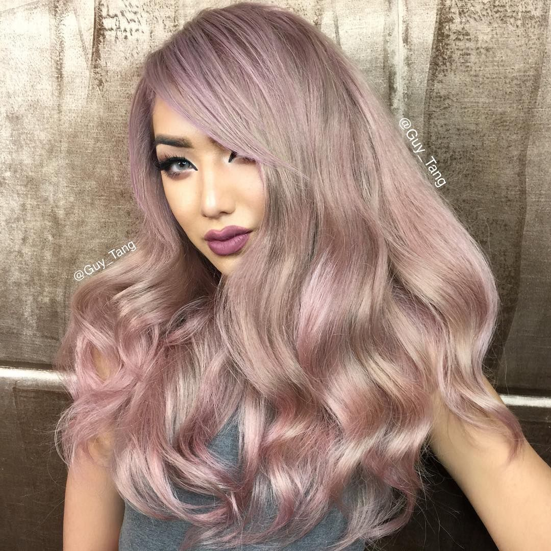 """""""My HairBestie @nycdragun got the Metallic Obsession with @kenraprofessional #Violet #Metallic  VM series using 8VM 9VM and 5vr in Demi to create a custom…"""""""