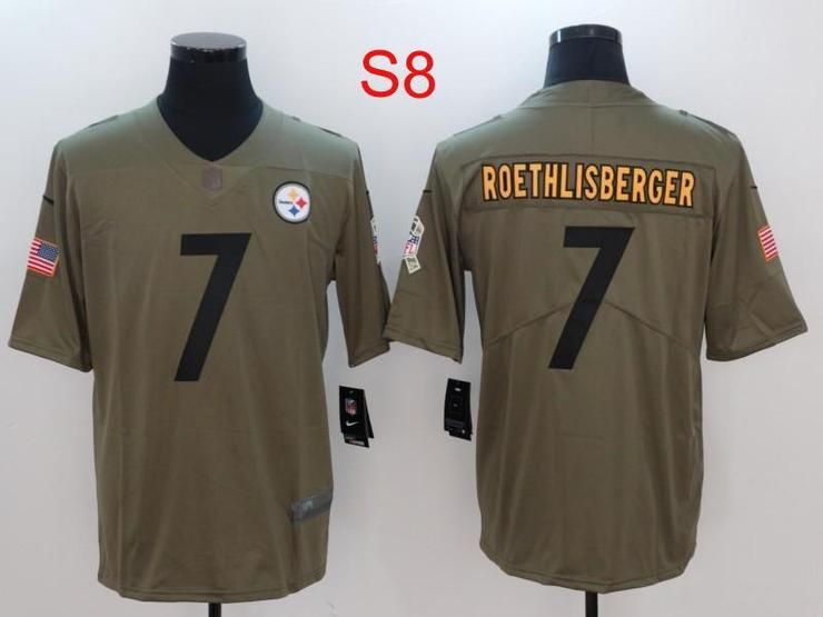 Men 7 Ben Roethlisberger Jersey Football Pittsburgh Steelers Jersey ... aebd4bf8e