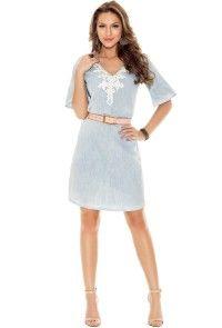1704724a1 Vestido Titanium Jeans | Titanium Jeans | Jeans, Vestidos e Moda