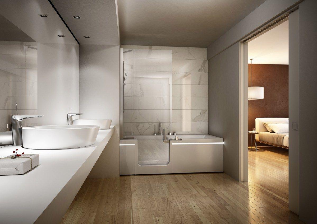 Pret A Porter Il Nuovo Combinato Di Teuco Bathroom Trends Bathroom Design Bathtub
