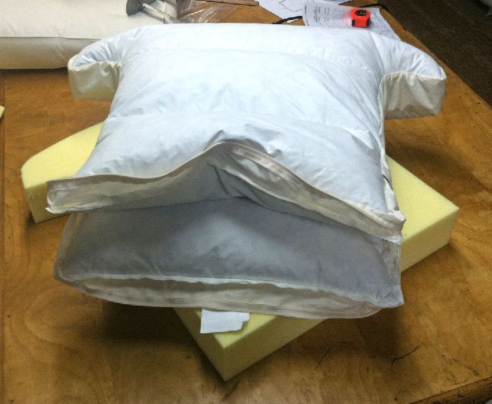 Poly Down Seat Cushion Cushions On Sofa Sewing Cushions Diy