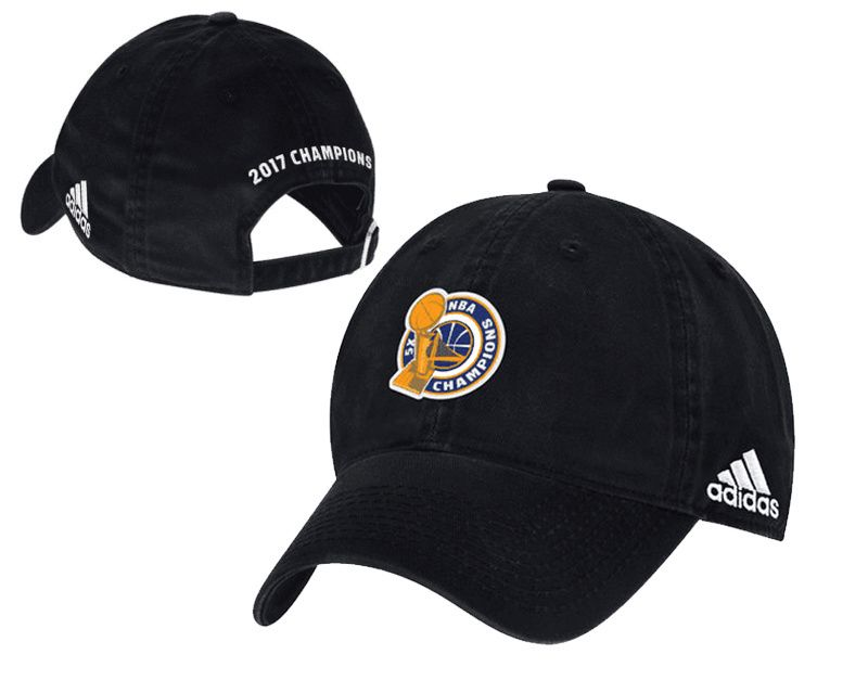... usa mens womens golden state warriors adidas black 2017 nba finals  champions unstructured adjustable hat ddf15 c8d85d85acfa
