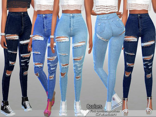 Photo of Sims 4 CC's – The Best: Clothing di Pinkzombiecupcake