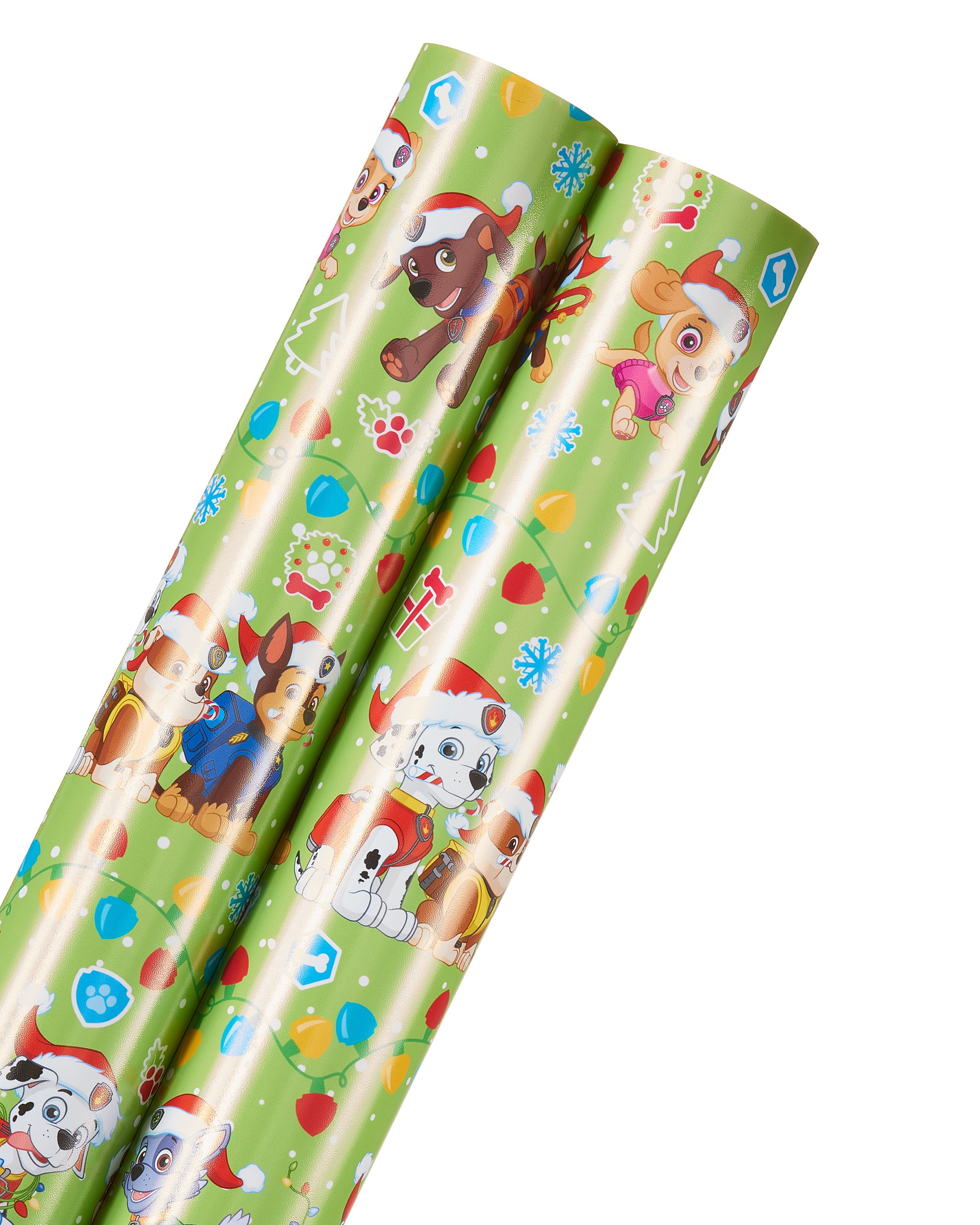 Free Shipping on orders over $35 Buy Paw Patrol Christmas Wrapping