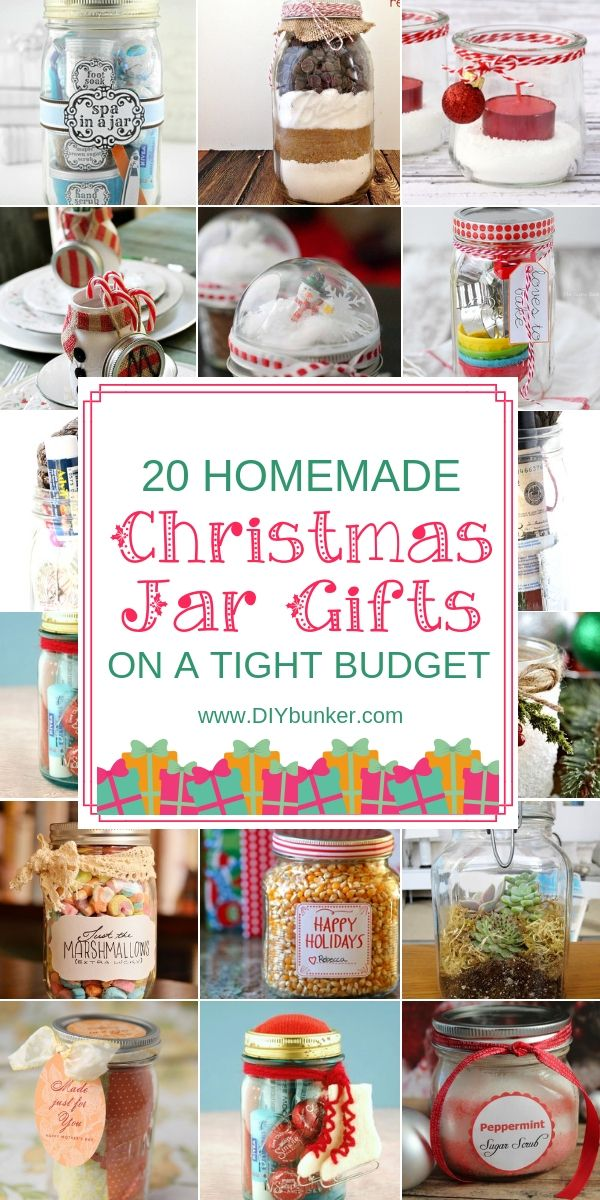 Gifts in a Jar That're Perfect for Every Kind of Person #diygiftsforhim