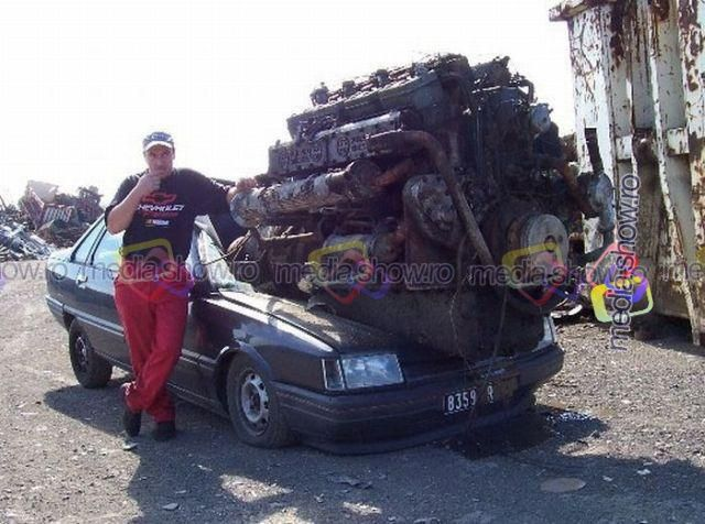 The Worlds Biggest Car >> World S Biggest Car Engine Fun Pinterest Cars Weird Cars And