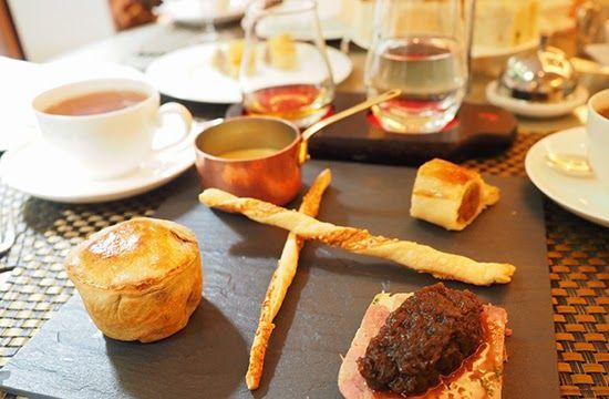 Gentleman's Tea at London's Athenaeum Hotel | .... Suet ...