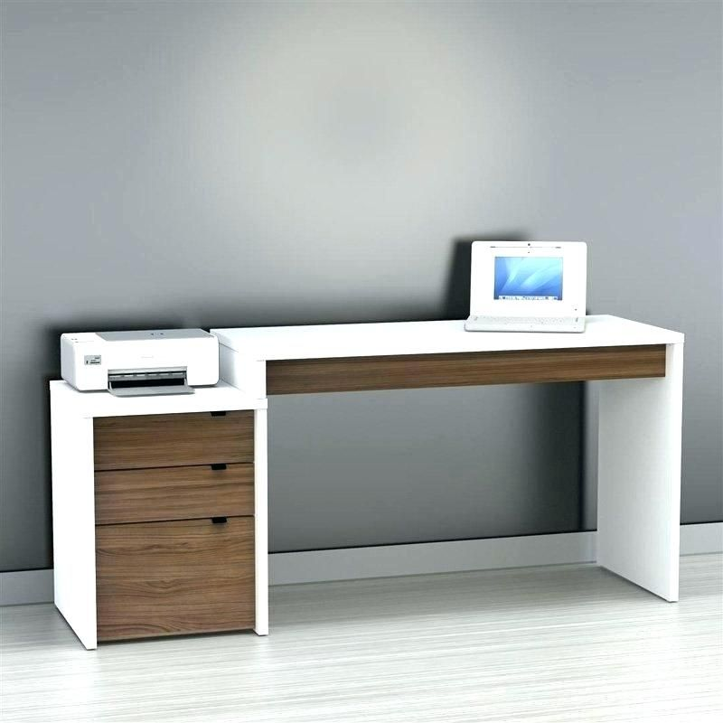 Wood Home Office Desk Minimalist Office Desk Elegant Modern Wood