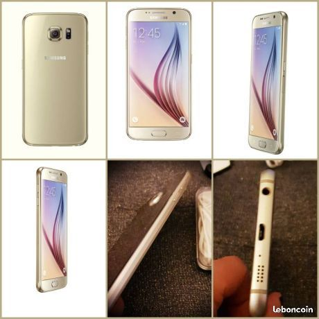 Samsung Galaxy S6 Telephonie Ain Leboncoin Fr Telephonie Annonce Soldes