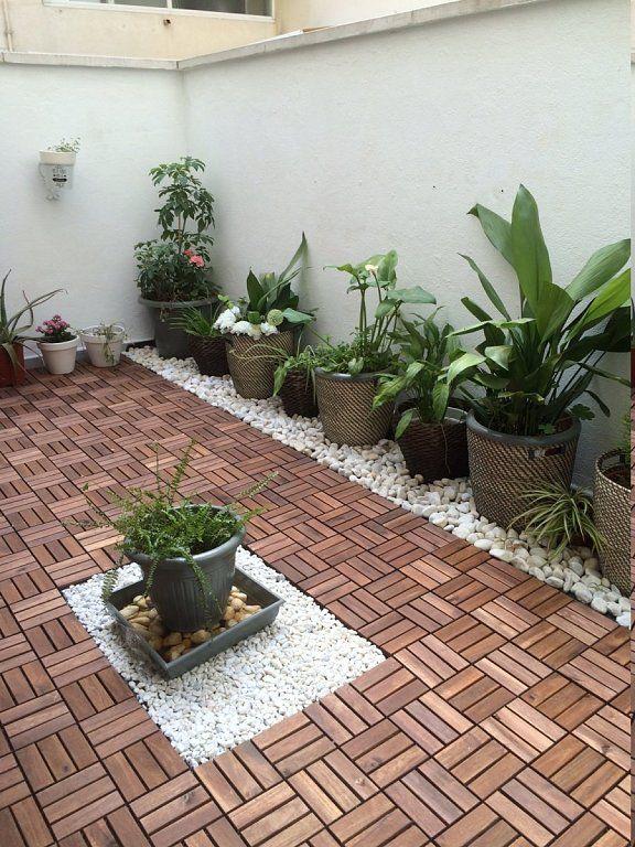 Mi patio antes y despues porch for Patio decorado