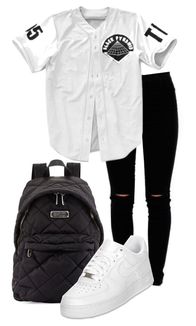 wholesale dealer 02180 7dee9 by nae-nae22 ❤ liked on Polyvore featuring Marc by Marc Jacobs and NIKE