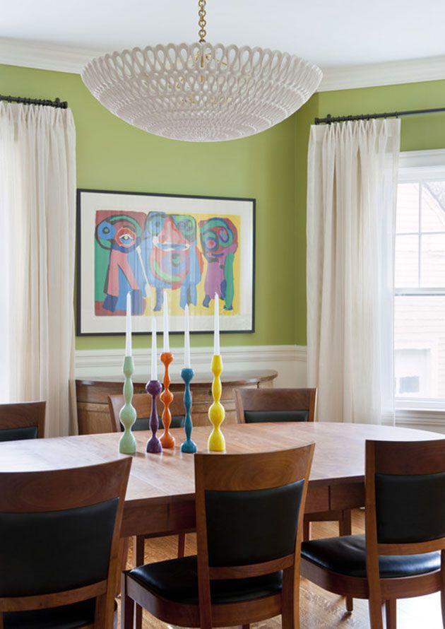 De qué color pintar las paredes del salón con muebles marrones ...