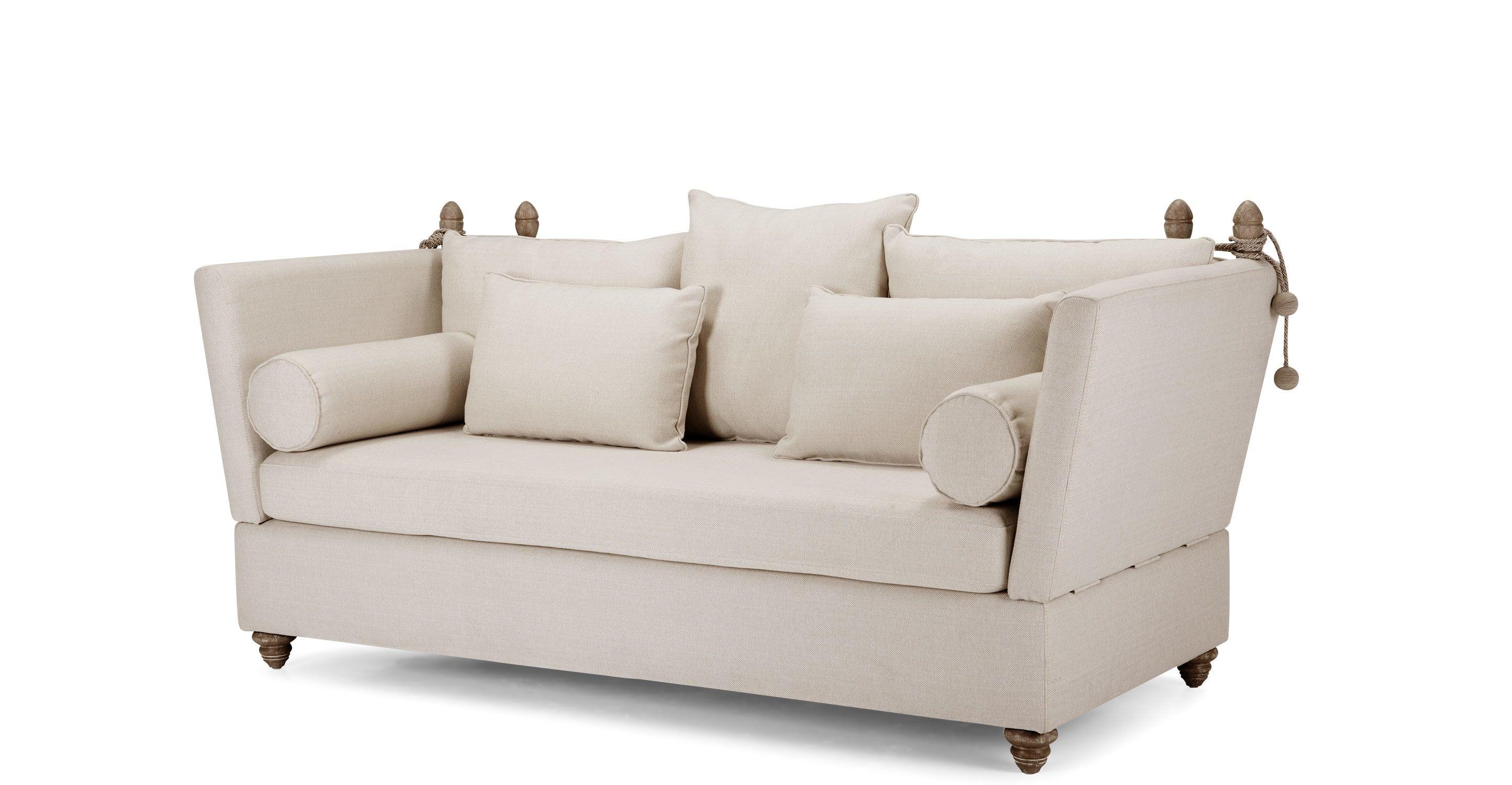 crawley 3 seater sofa, natural chevron | natural and house