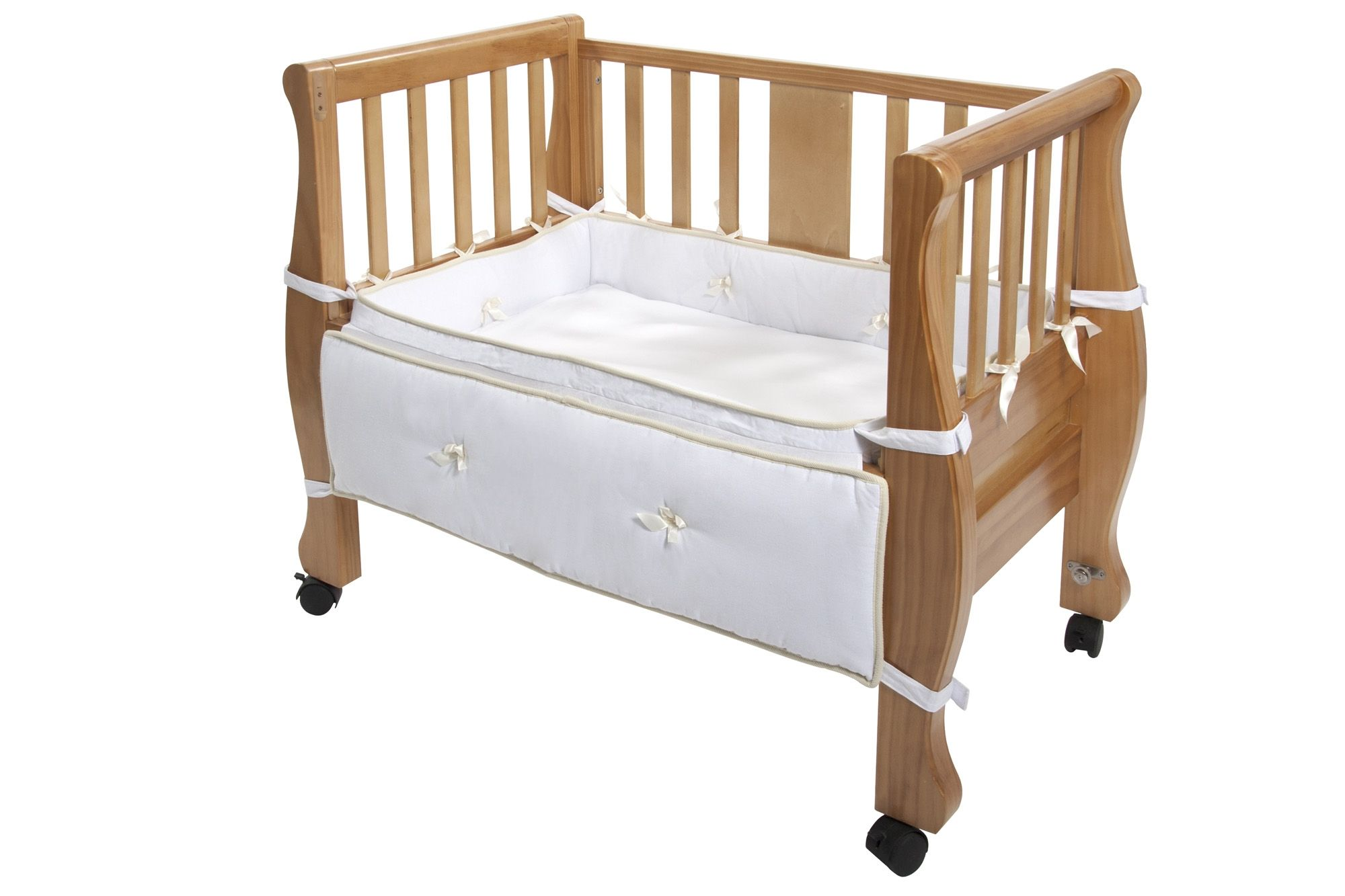Sleigh Bed Co-Sleeper® looks like you can convert it to a ...