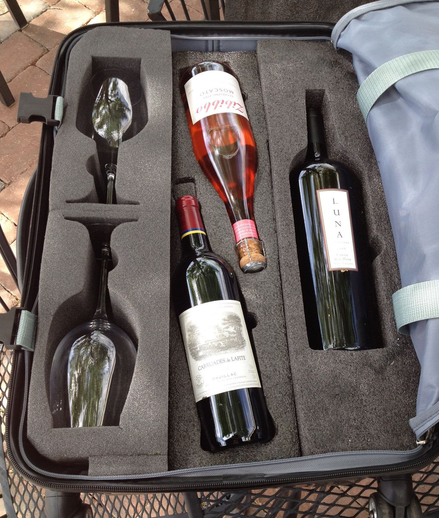 Magnum Bottle Insert For Vingardevalise Magnum Bottle Wine Wine Travel Case