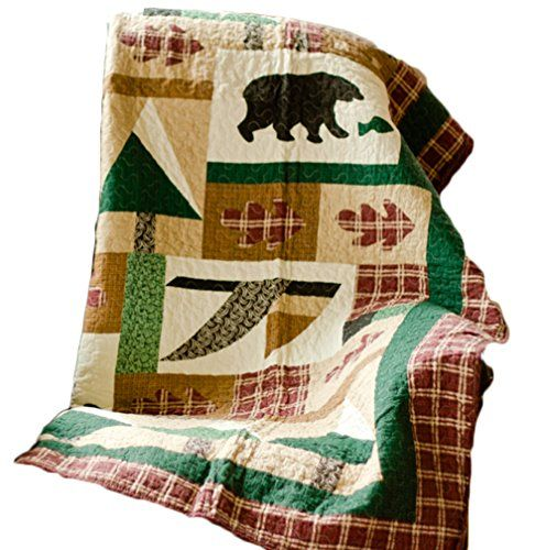 Winter Cabin Throw Blanket Quilt Lodge Style Throw Quilts Https Www Amazon Com Dp B0188a2czo Ref C Winter Blankets Rustic Cabin Decor Rustic Wall Hangings