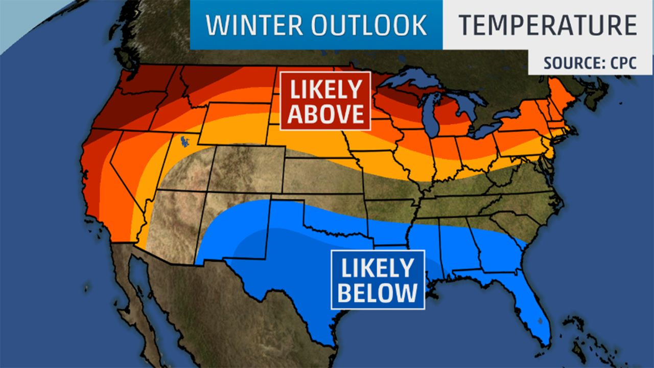 Winter Outlook Update January Cold Snap in East Possible But El