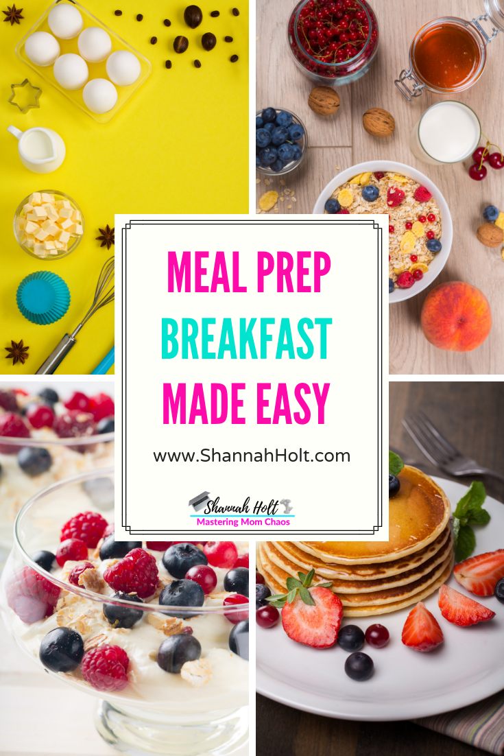 Breakfast Meal Prep Ideas images