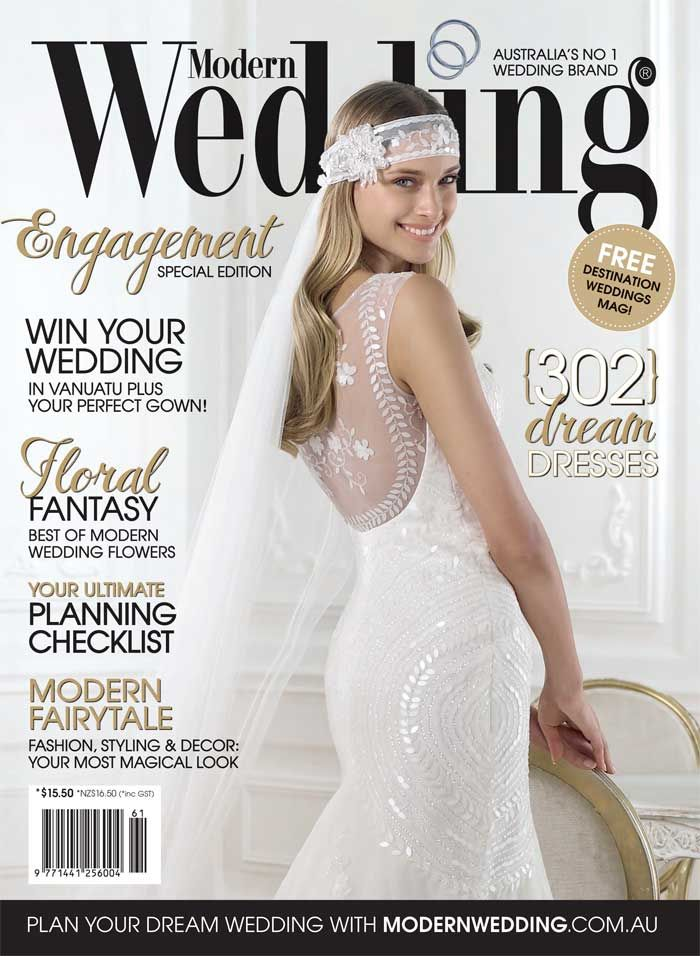 best wedding magazines australia